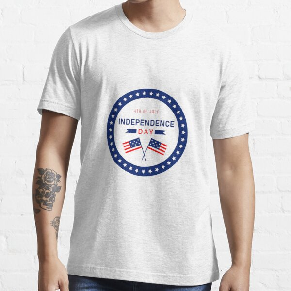 United States Independence Day, 4th of july | graphic design Essential T-Shirt
