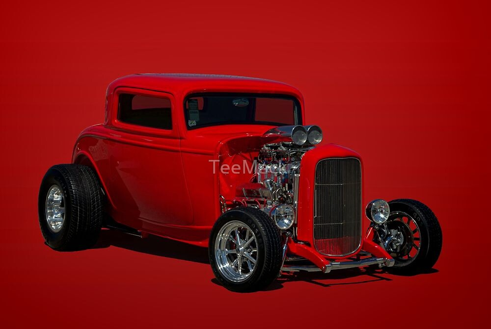 1932 Ford Hot Rod by TeeMack