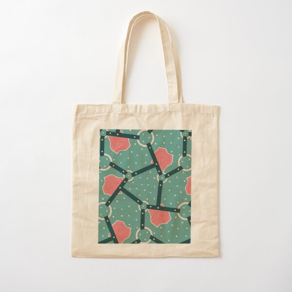Floral Bondage | Billie Ruben Cotton Tote Bag