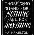Stand or Fall Quote by emykdesigns