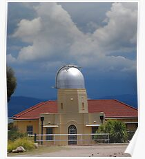 Storm coming to Mount Stromlo Poster