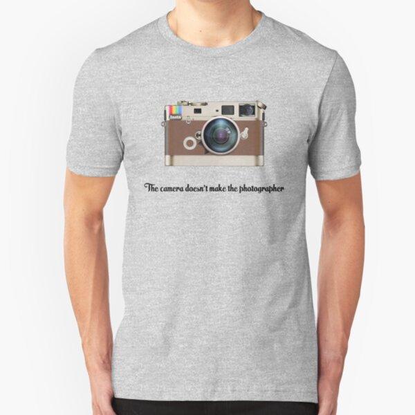 Leica Instagram Kamera Slim Fit T-Shirt