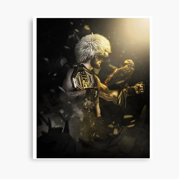 Khabib - The Eagle, The Champion, The Undefeated Canvas Print