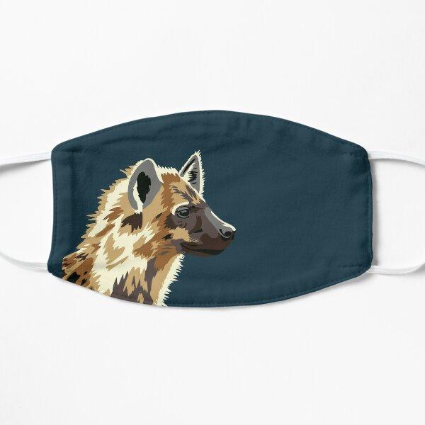 Spotted Hyena Portrait Flat Mask