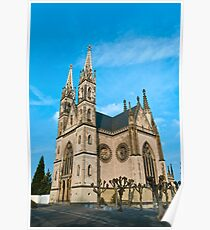 Apollinaris church in Remagen, Germany Poster