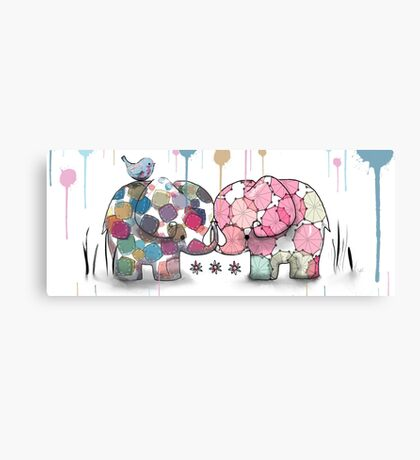 elephant confection Canvas Print