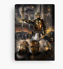 Knights Charge Canvas Print