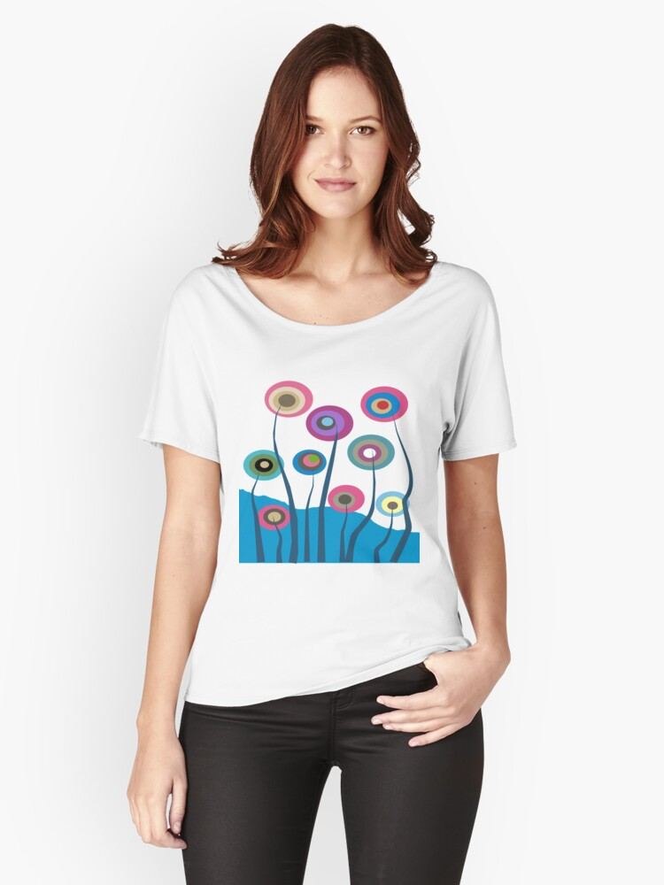 Whimsical Trees Women's Relaxed Fit T-Shirt Front
