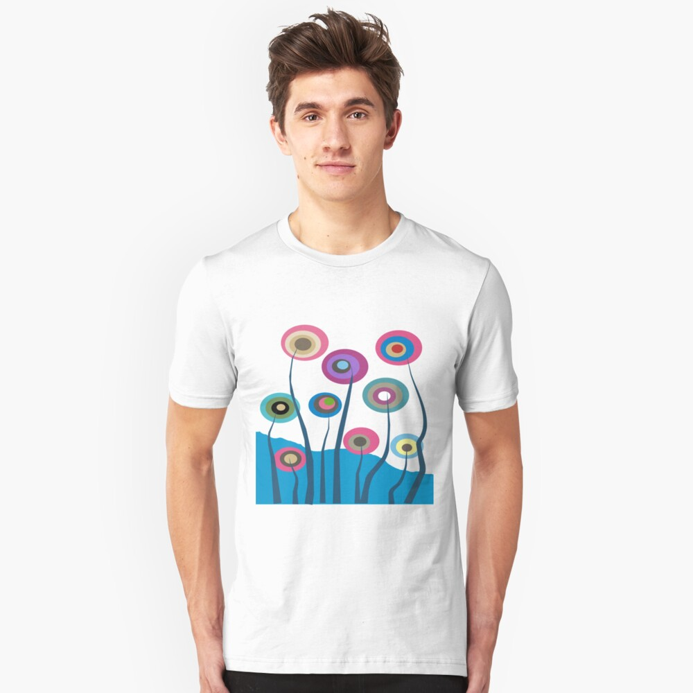 Whimsical Trees Unisex T-Shirt Front