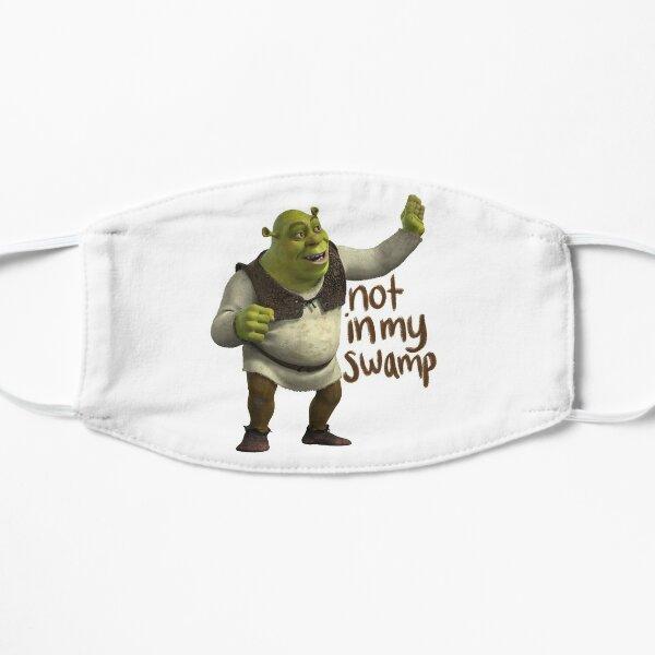 Shrek no está en mi pantano Mascarilla plana