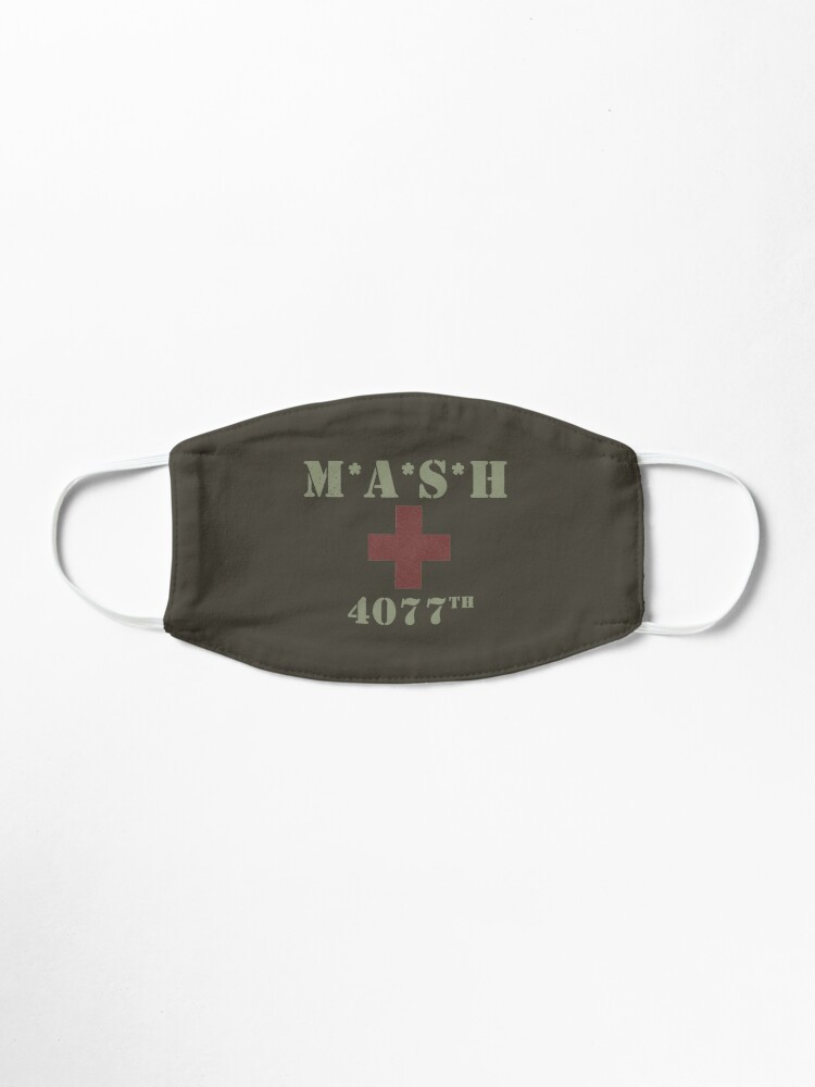 Alternate view of MASH (distressed look) Mask