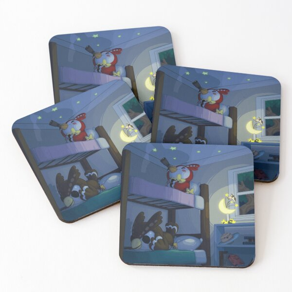 Bedtime Coasters (Set of 4)
