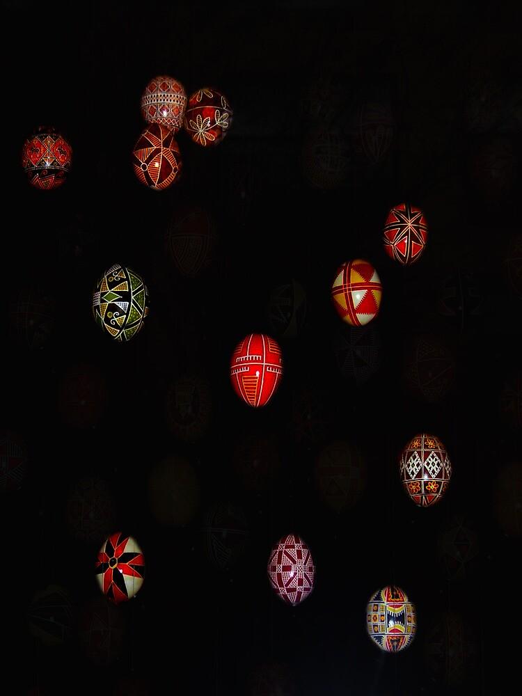 Easter Eggs - Pysanka from the Ukraine #2 by peterrobinsonjr