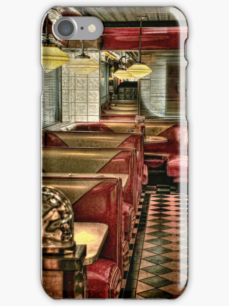Back To The Fifties iPhone Case by Lois  Bryan