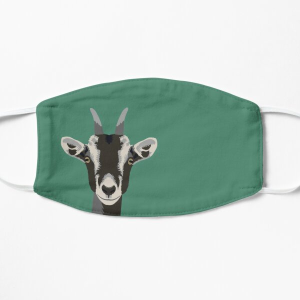 Goaty McGoatface Flat Mask