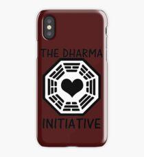 DHARMA INITIATIVE iPhone Case
