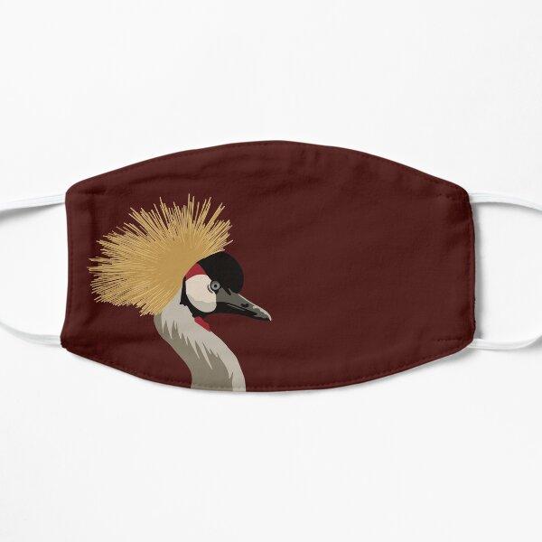 Crowned Crane Portrait Mask