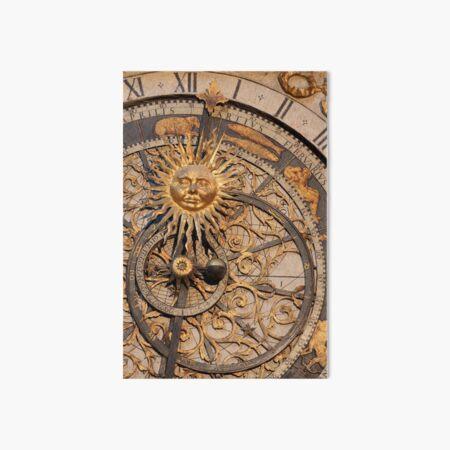 Horloge astronomique de Lyon (France) Impression rigide