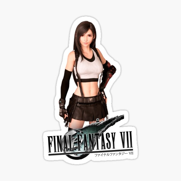 Final Fantasy 7 Remake Tifa Lockhart Sticker