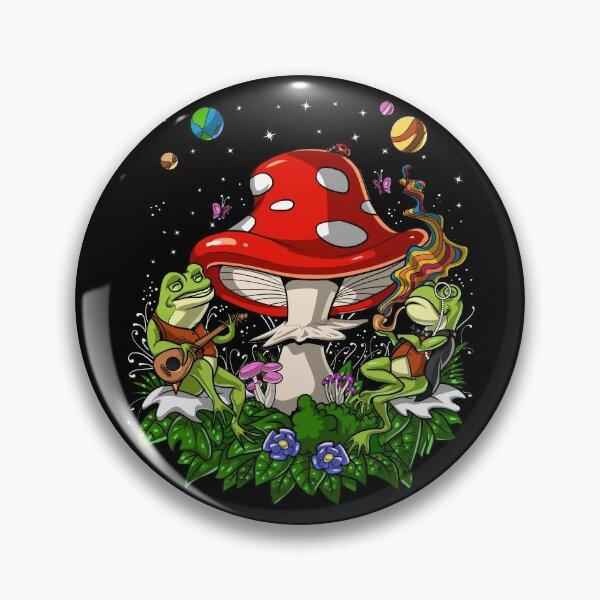 Psychedelic Bufo Alvarius Toad Pin
