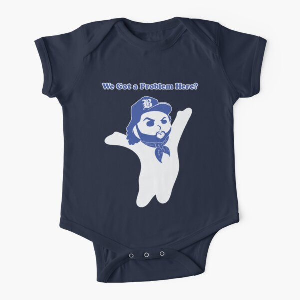 DoughBoyz in the Hood (We Got a Problem Here?) Short Sleeve Baby One-Piece