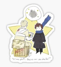 Le Petit Consulting Detective - French Sticker