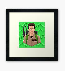 i collect spores mold and fungus Framed Print