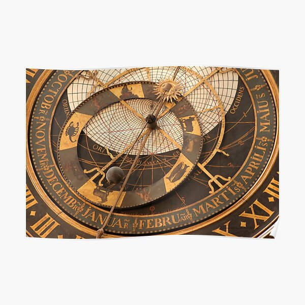 Horloge astronomique de Saint-Omer (France) Poster