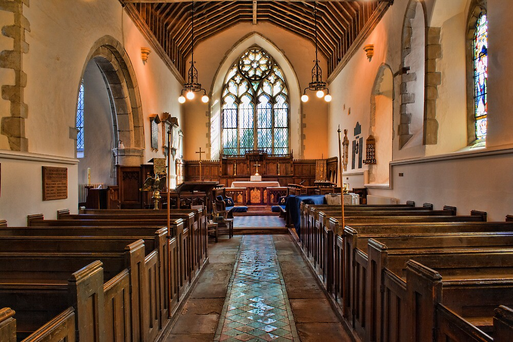 St Mary The Virgin, Thurnham - interior by Dave Godden