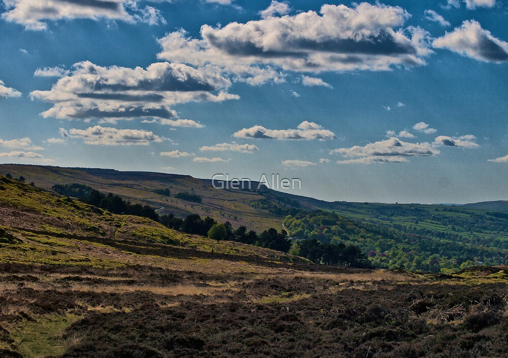 Ilkley Moor by Glen Allen