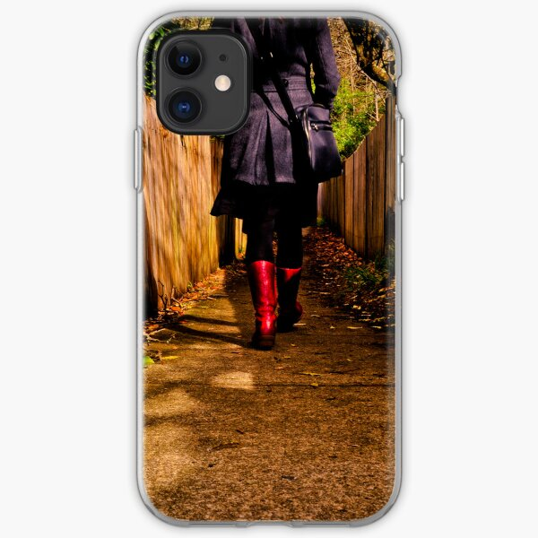 These boots are made for walking ... iPhone Soft Case