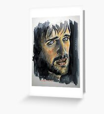 Jonas Armstrong, featured in Art Universe Greeting Card