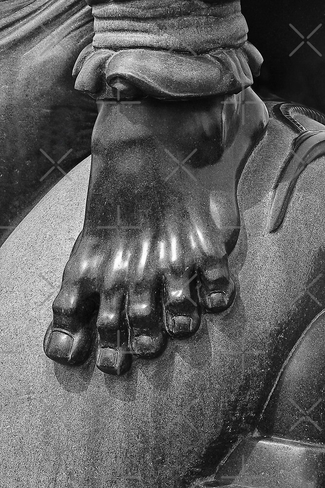 Sculptured Foot by Heather Friedman