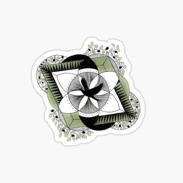 Shinrin-yoku Art - Forest Mystery Collection VI Sticker