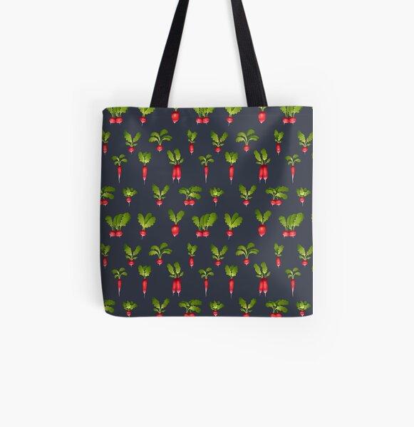 Radish Allover-Print Tote Bag
