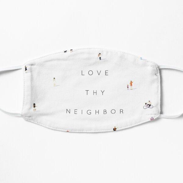Far apart, Near in heart (love thy neighbour) Mask