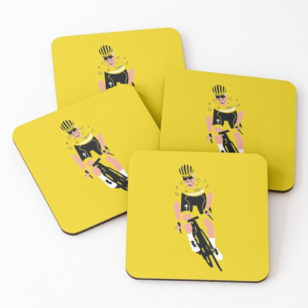 Julian Alaphilippe Tour de France 2 Coasters (Set of 4)
