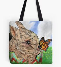 Bunny and Butterfly Tote Bag