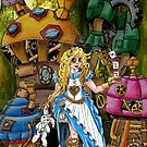 Alice in Wonderland - Steampunk style by NuttyRachy