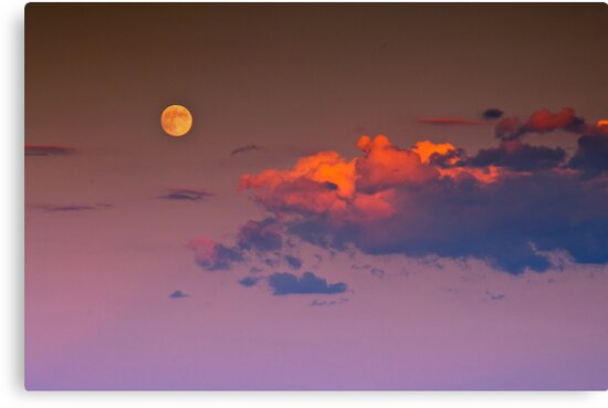 A Lunar Dusk by John  De Bord Photography