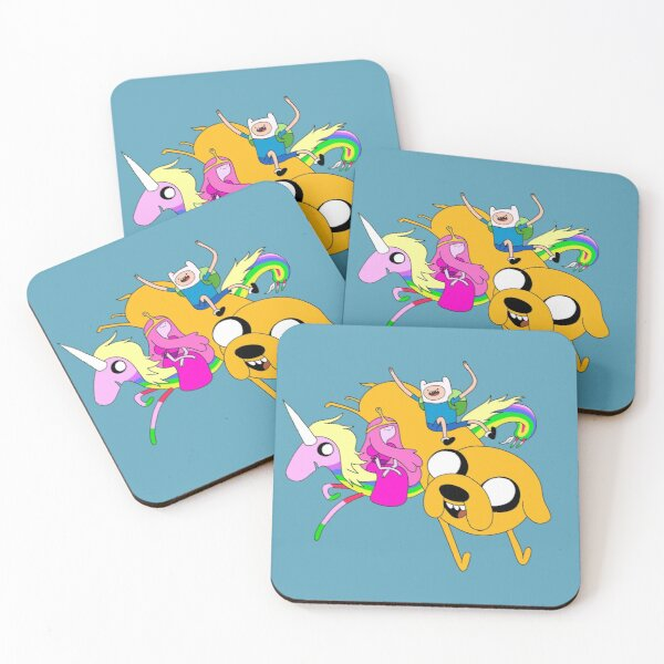 Adventure time Coasters (Set of 4)