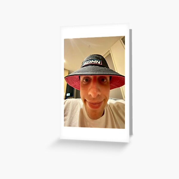 W2S Bucket Hat Greeting Card