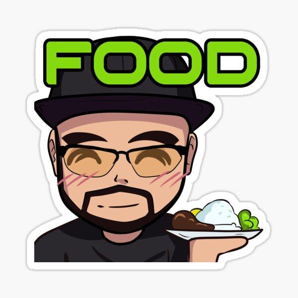 Trixz Food Sticker
