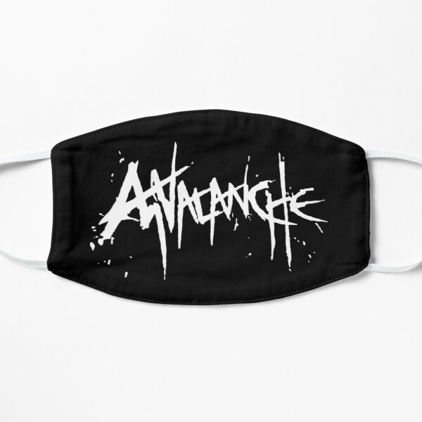 Final Fantasy® VII Remake - AVALANCHE (Logo) [White] Flat Mask