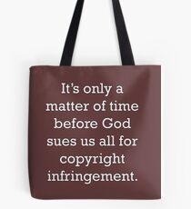 Copyright Infringement Tote Bag