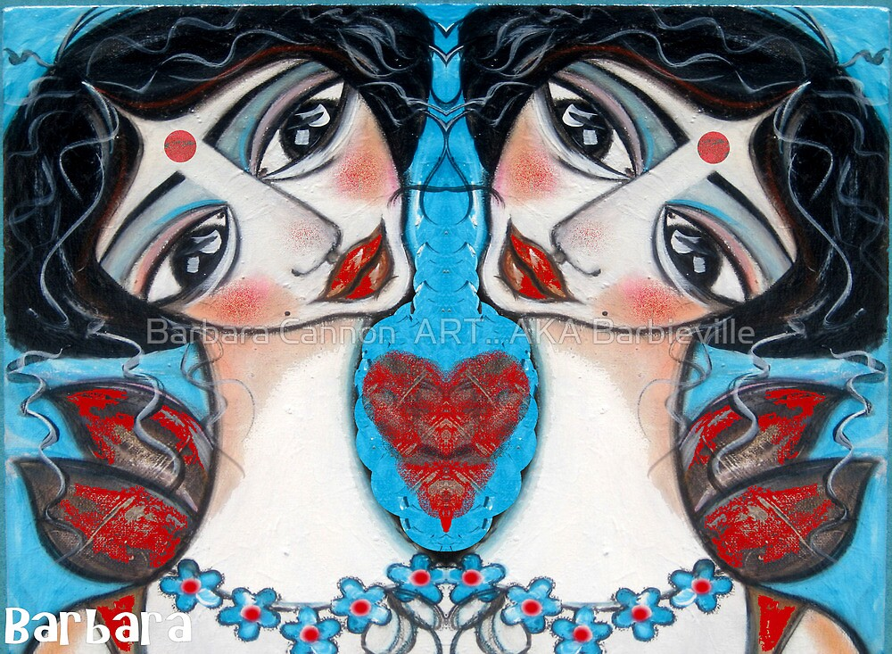 KANAKABITI by Barbara Cannon  ART.. AKA Barbieville