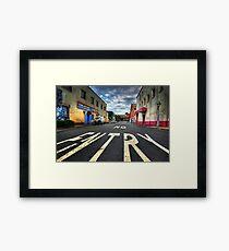 Abandoned City Framed Print
