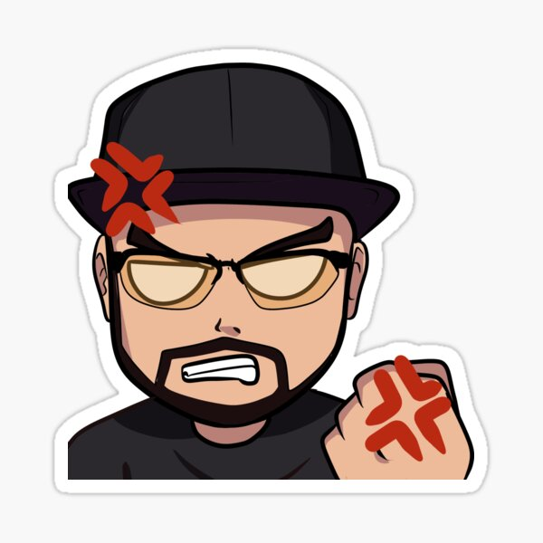 Trixz Rage Sticker