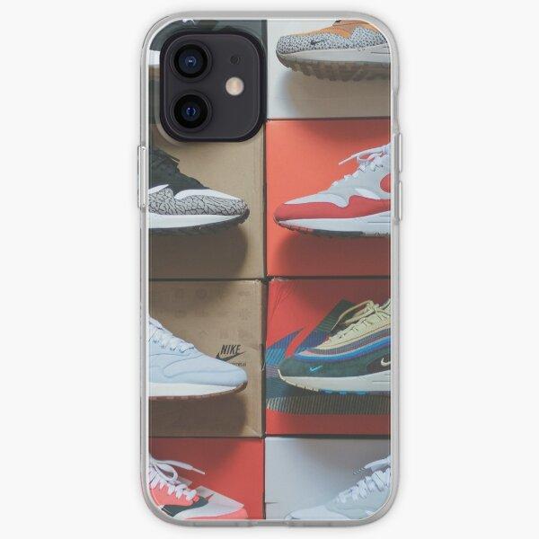 Zapatillas con cajas Funda blanda para iPhone