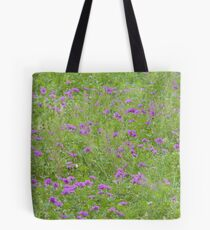 Texas Stork's Bill Grows in Large Groups Tote Bag